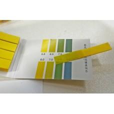 แถบวัดค่าความเป็นกรดด่าง pH