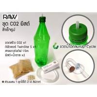 ชุดผลิต CO2 ยีสต์สำเร็จรูป RAW CO2Y สำหรับตู้ขนาดเล็กไม่เกิน 100 ลิตร