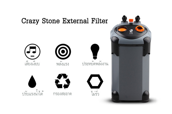 Crazy Stone Canister Filter